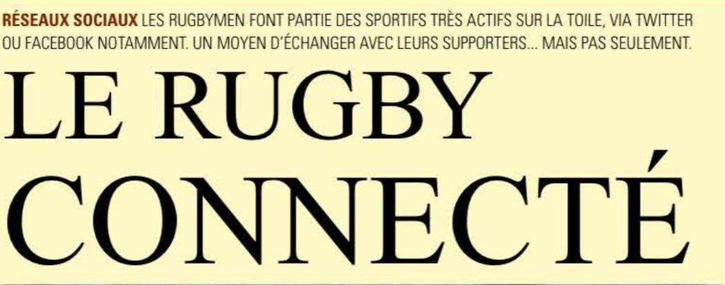 Le Midol évoque la communication digitale pour les rugbymen !