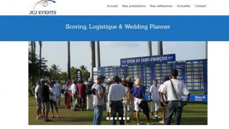 Réalisation du site JCJ Events