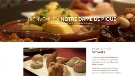 Un nouveau site web pour Notre Dame de Pique !